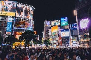 Shibuya Kreuzung Tokyo, Japan