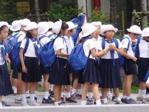 japanische Kindergartenkinder