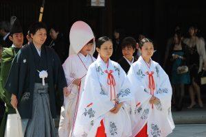 Shinto Heirat in Tokyo, Japan